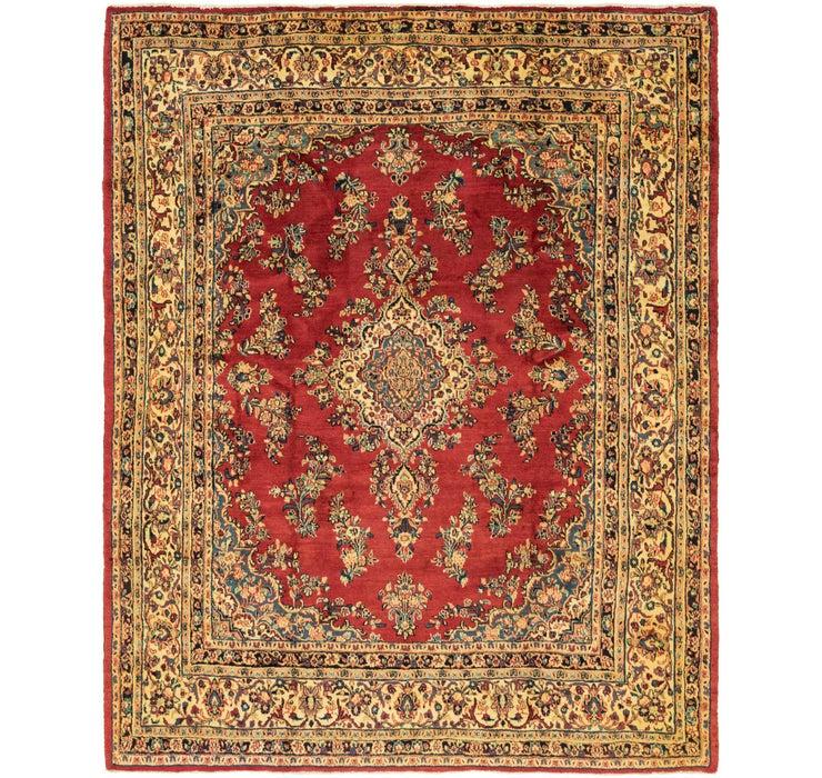 9' x 11' 4 Shahrbaft Persian Rug