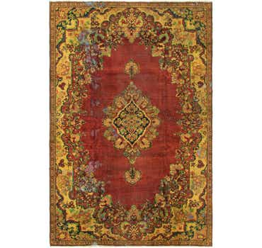 8' 3 x 12' 6 Meshkabad Persian Rug