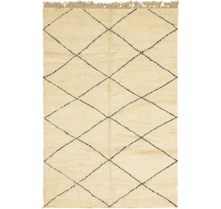 7' x 10' 1 Moroccan Rug