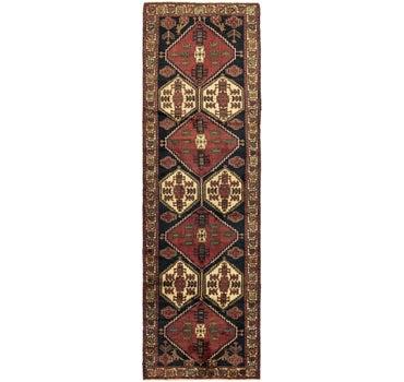 4' x 13' 9 Ardabil Persian Runner Rug main image