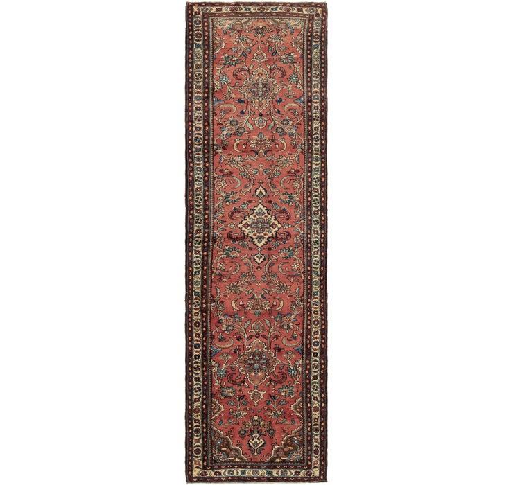 110cm x 395cm Nanaj Persian Runner Rug