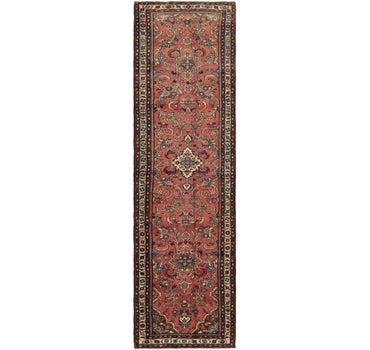 3' 7 x 13' Nanaj Persian Runner Rug main image