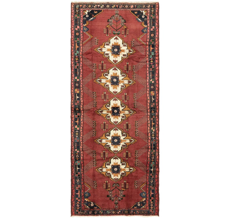 5' 2 x 13' Roodbar Persian Runner ...