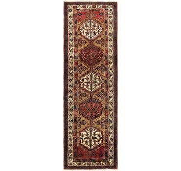 3' 3 x 10' 10 Meshkin Persian Runner Rug main image