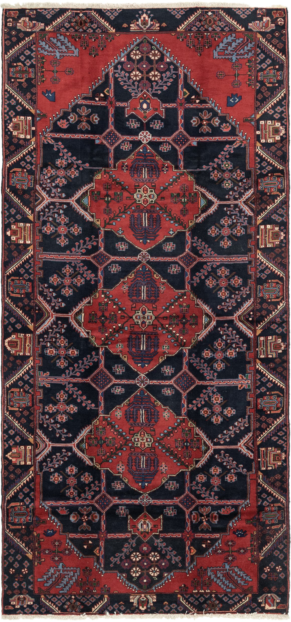5' 5 x 12' Shahsavand Persian Runner Rug main image