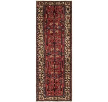 3' 4 x 9' 9 Hamedan Persian Runner Rug main image
