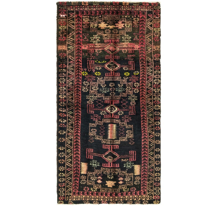 105cm x 225cm Zanjan Persian Runner Rug