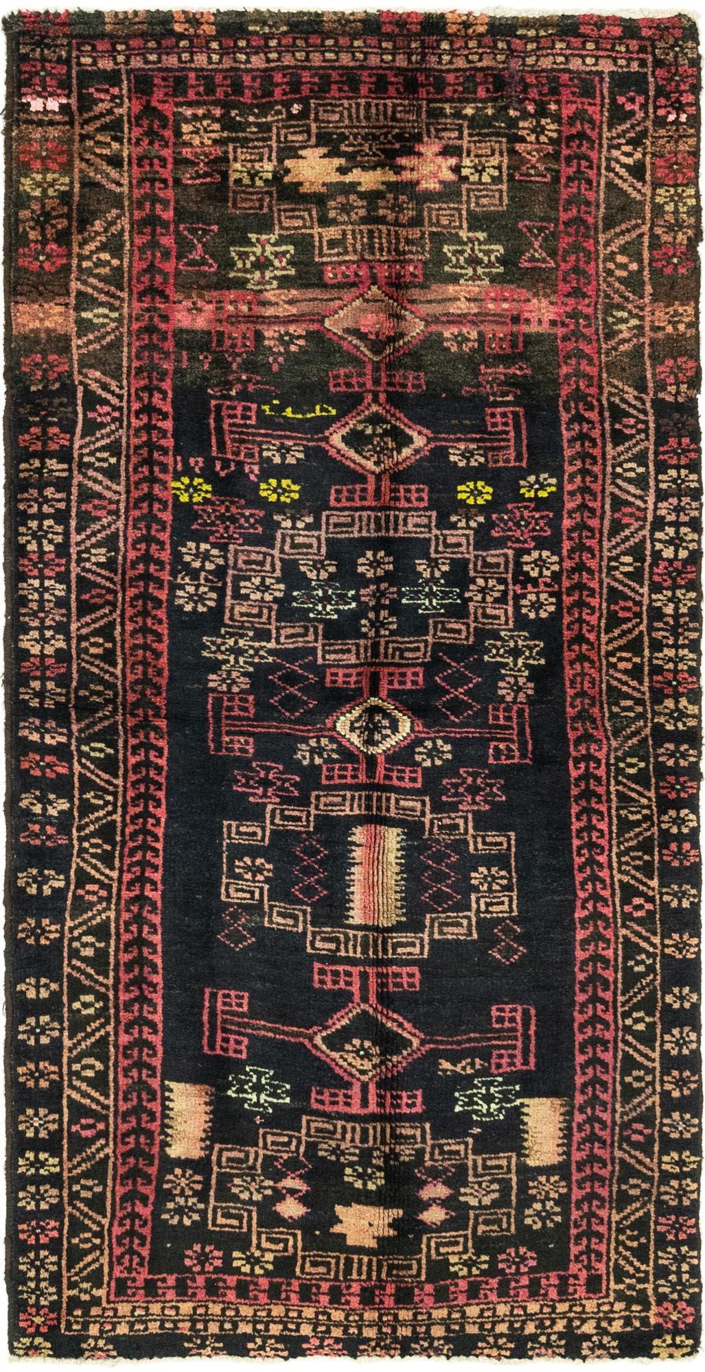 3' 5 x 7' 5 Zanjan Persian Runner Rug main image
