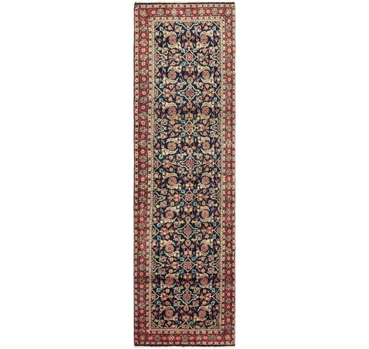 3' 5 x 13' 6 Meshkabad Persian Runne...