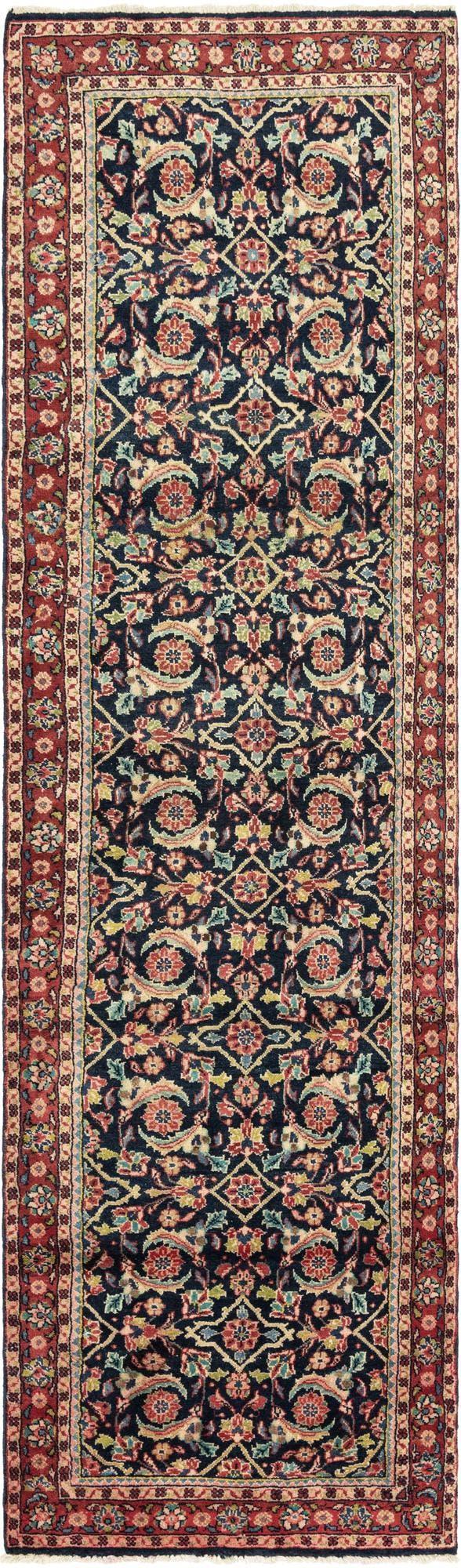 3' 5 x 13' 6 Meshkabad Persian Runner Rug main image