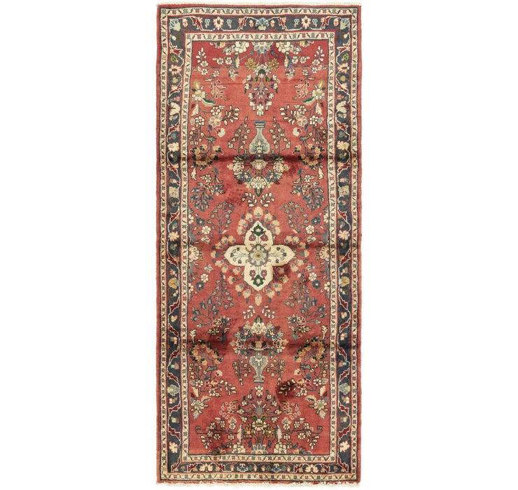 110cm x 265cm Nanaj Persian Runner Rug