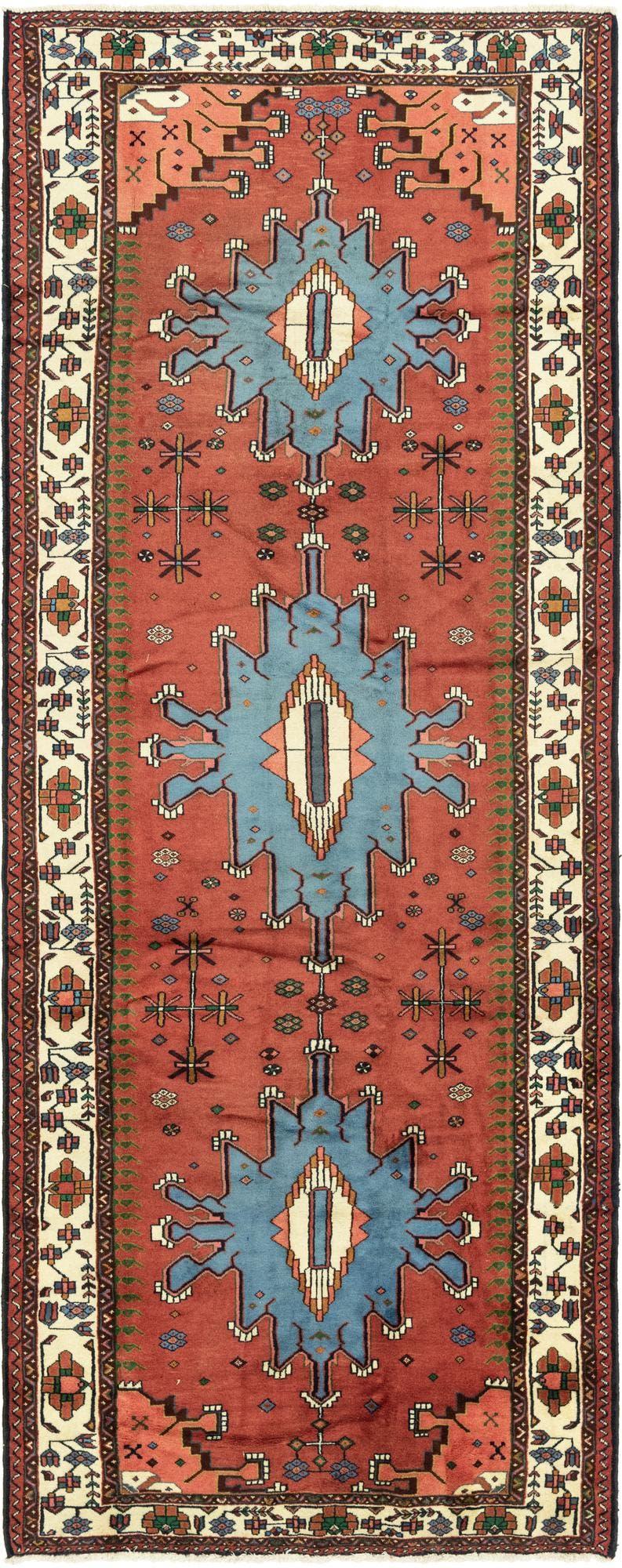 5' x 13' 5 Ardabil Persian Runner Rug main image