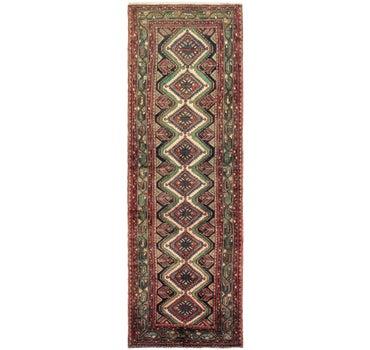 3' 4 x 10' 5 Chenar Persian Runner Rug main image