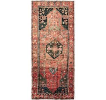4' 5 x 11' Zanjan Persian Runner Rug main image