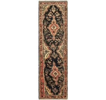 3' 8 x 12' 9 Hamedan Persian Runner Rug main image