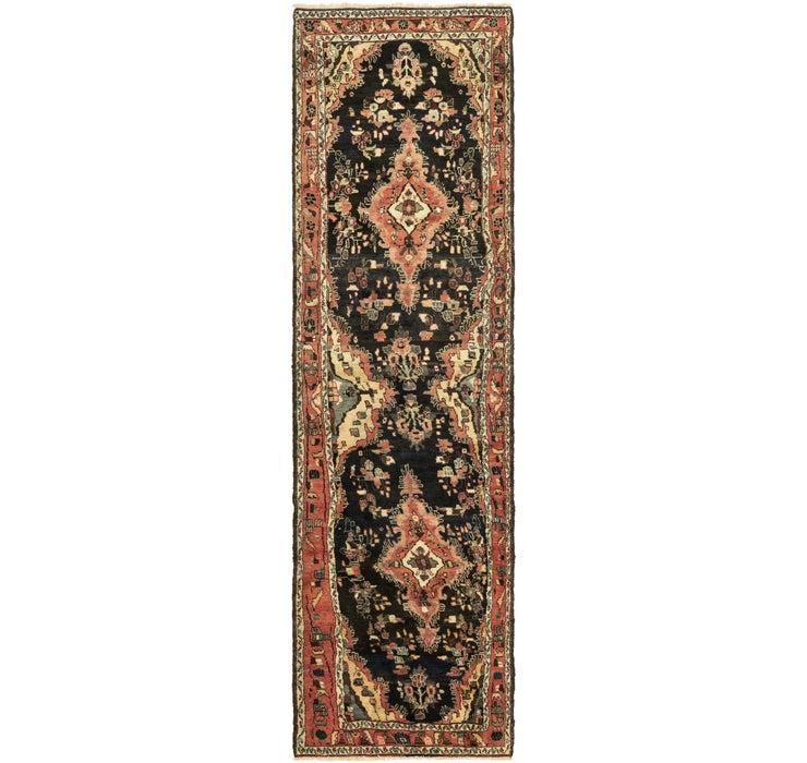 Image of 112cm x 390cm Hamedan Persian Runner ...