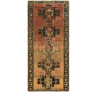 4' 7 x 10' 7 Shiraz Persian Runner Rug main image