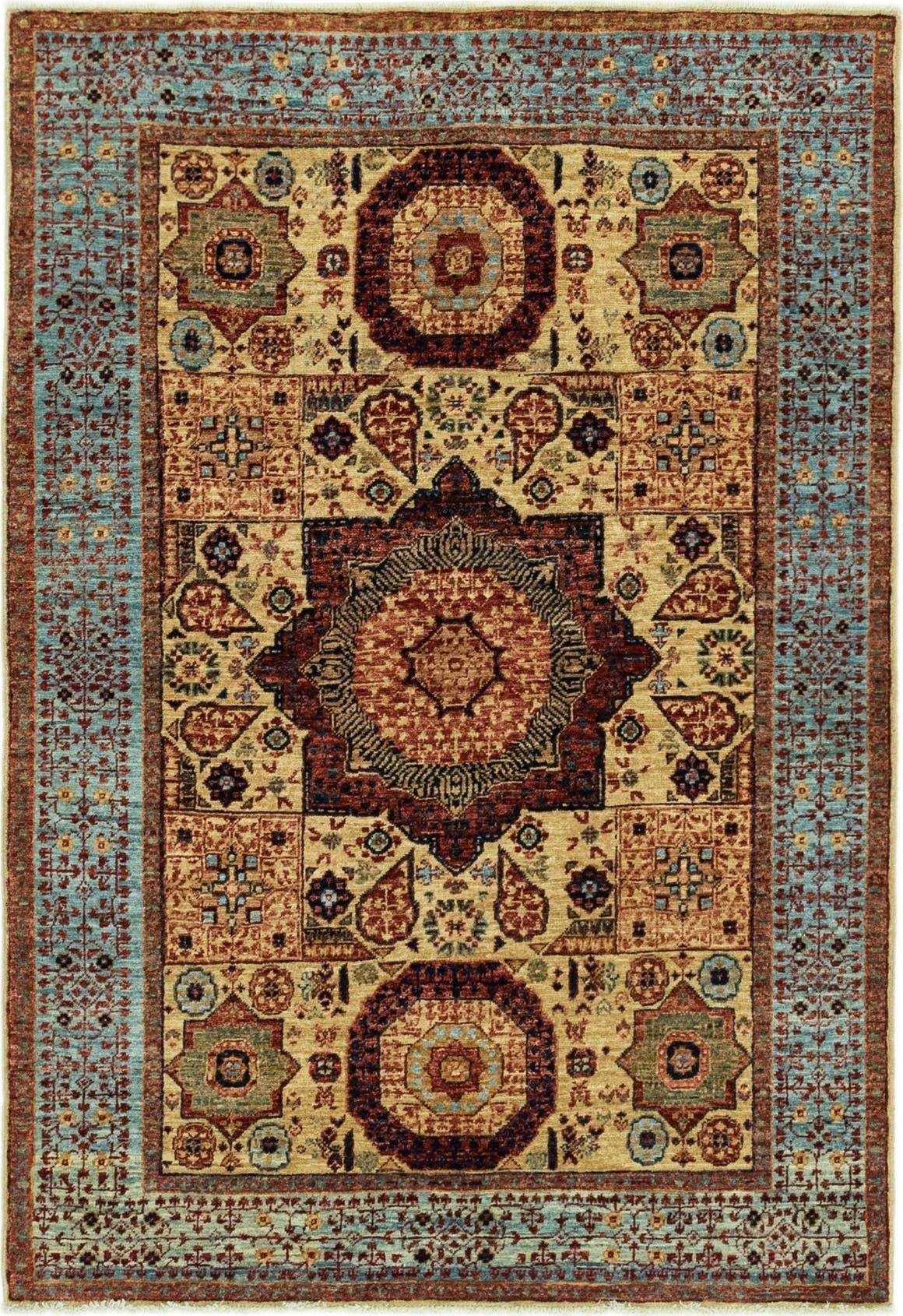 4' x 5' 10 Mamluk Ziegler Rug main image