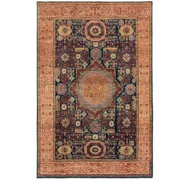 Image of 5' 11 x 9' Mamluk Ziegler Rug