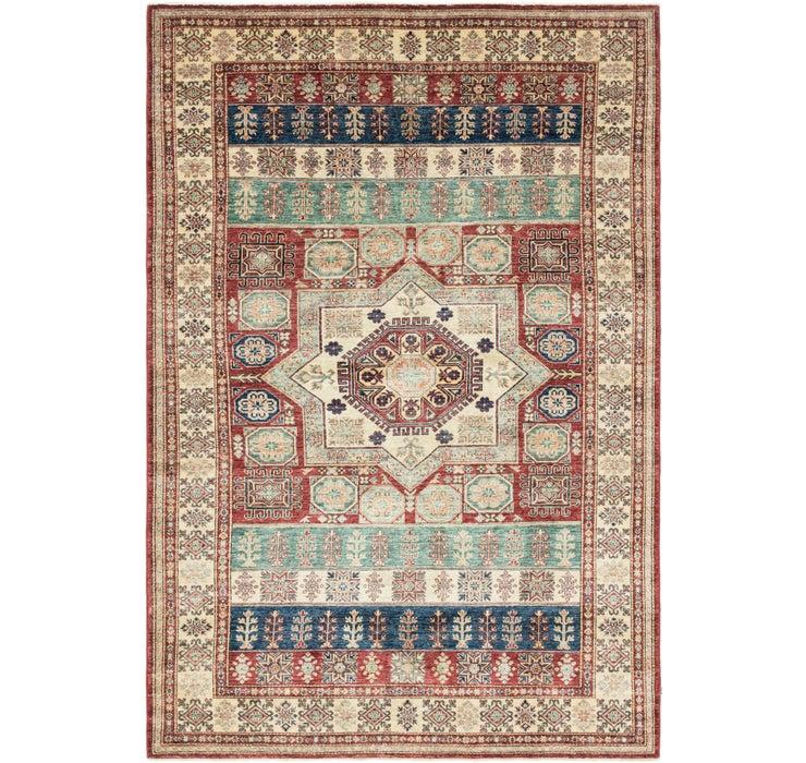 198cm x 297cm Kazak Oriental Rug