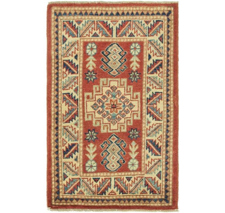 2' x 3' 2 Kazak Rug