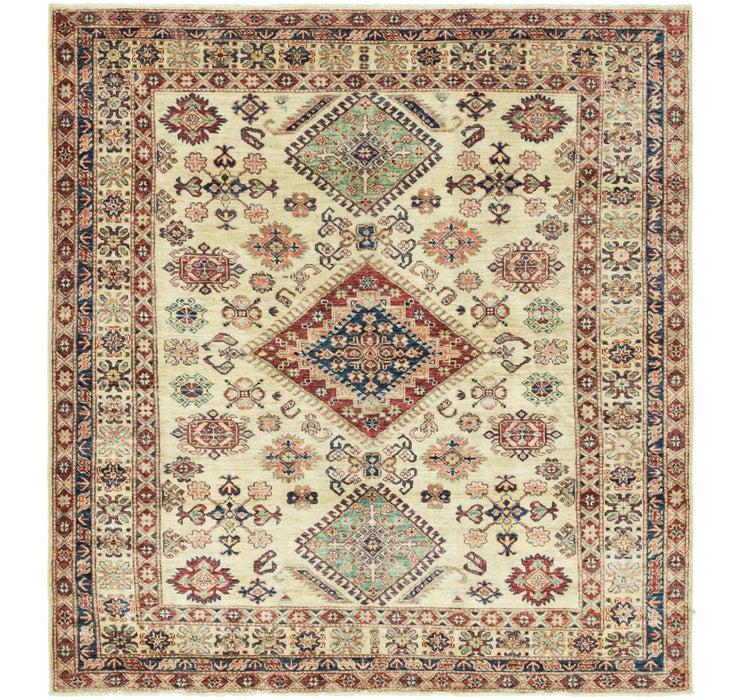 183cm x 193cm Kazak Oriental Square Rug