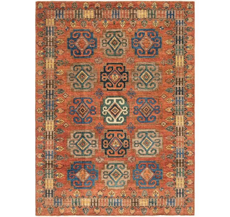 7' 1 x 9' 8 Kazak Oriental Rug