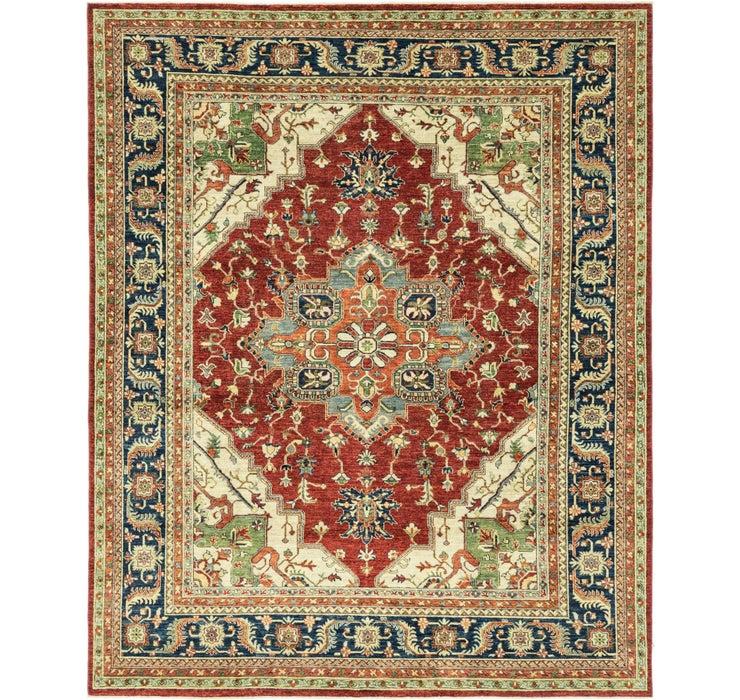 7' 9 x 9' 8 Kazak Oriental Rug