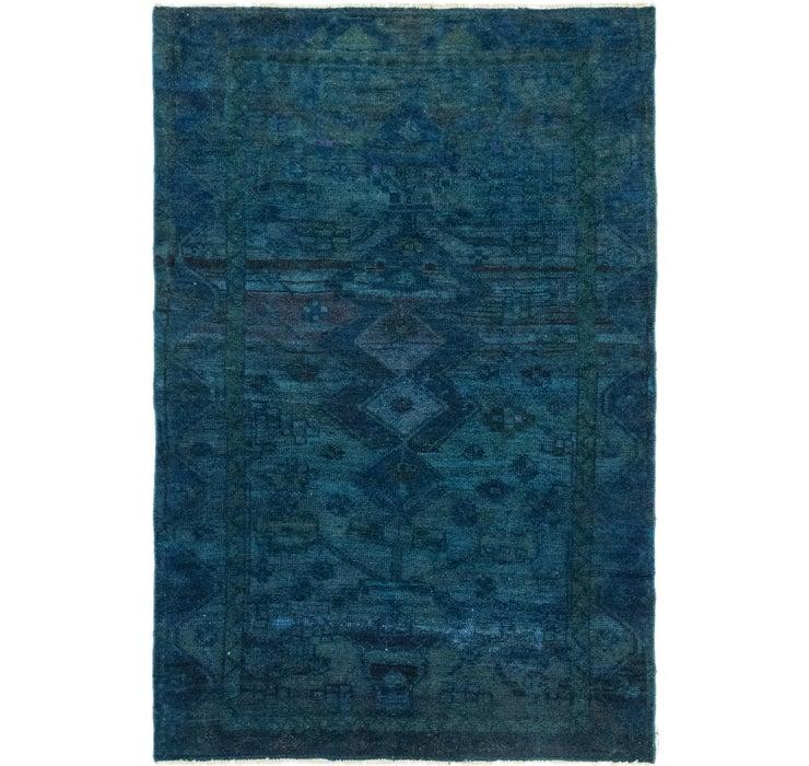 4' x 5' 11 Ultra Vintage Persian Rug