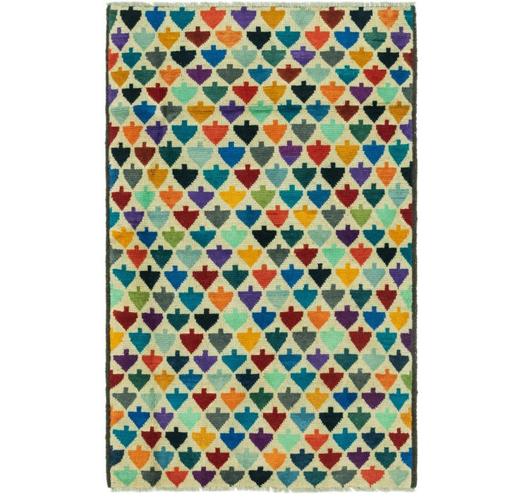 Image of 3' 2 x 5' 1 Balouch Rug