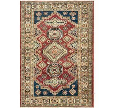 Image of 4' x 5' 10 Kazak Oriental Rug