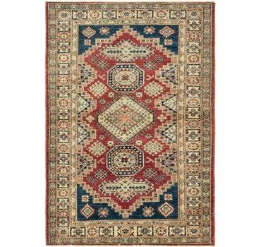 4' x 5' 10 Kazak Oriental Rug main image
