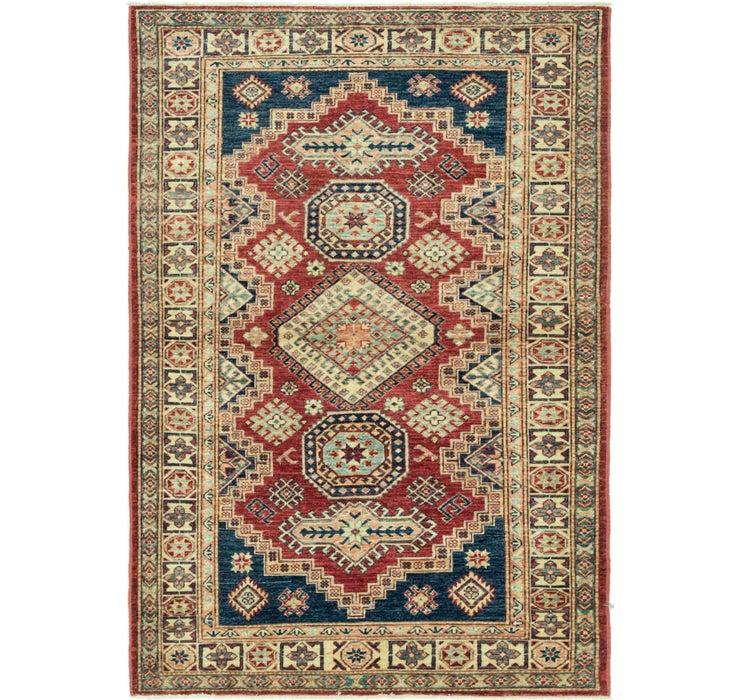 Image of 122cm x 178cm Kazak Oriental Rug
