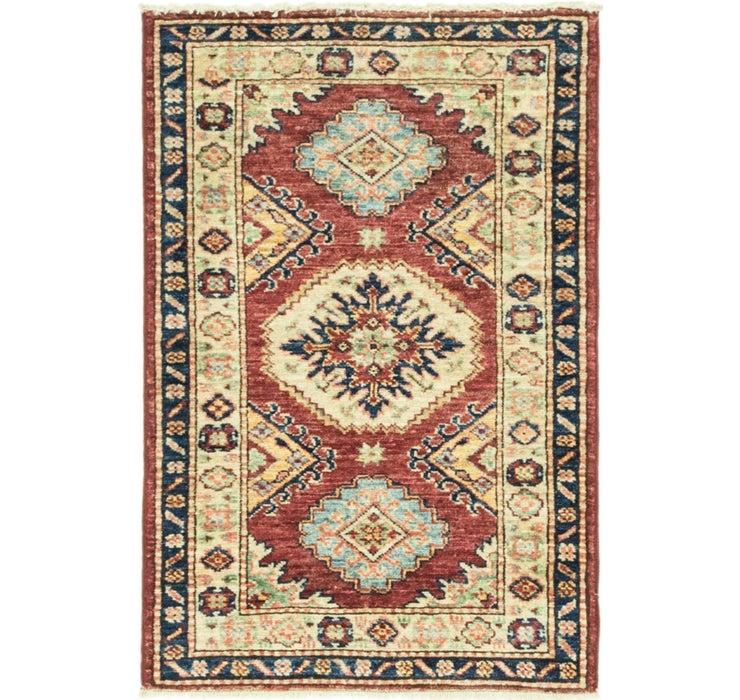 1' 11 x 3' Kazak Oriental Rug