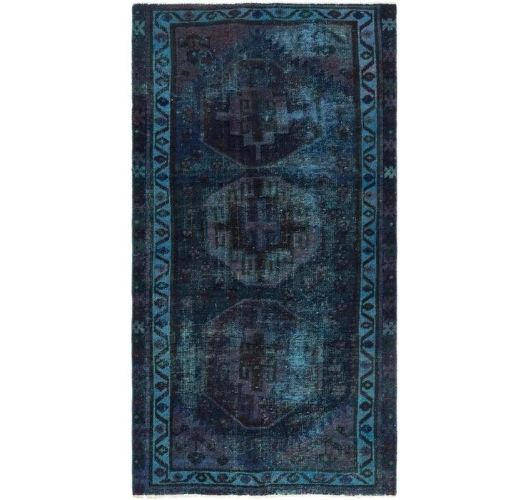 100cm x 188cm Ultra Vintage Persian Rug