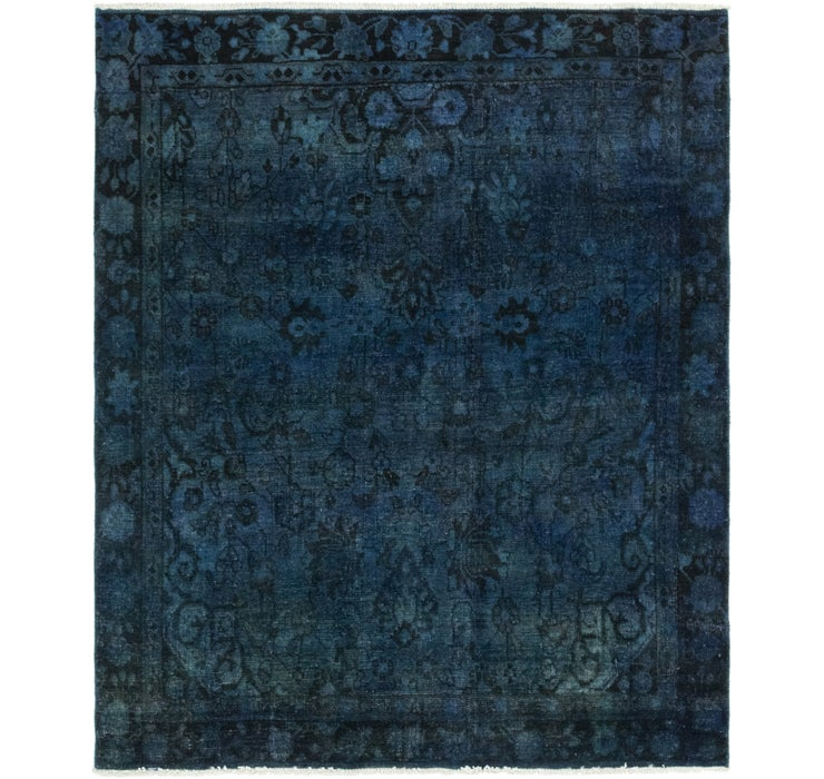4' 5 x 5' 2 Ultra Vintage Persian S...