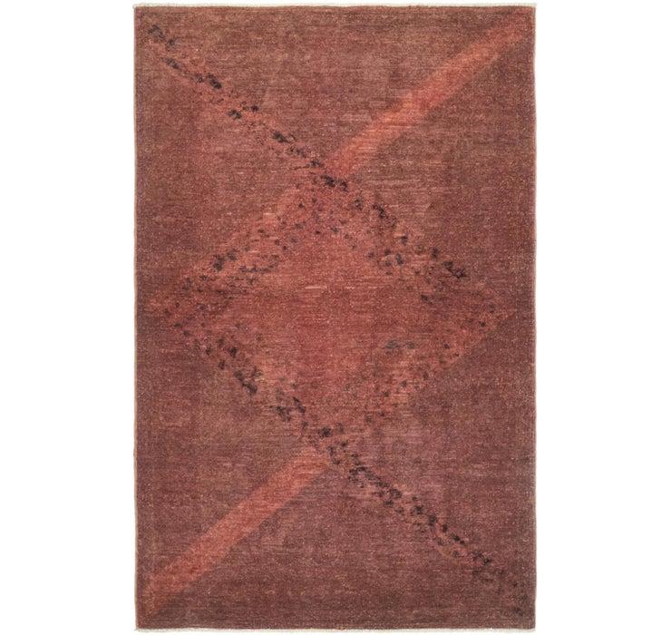 95cm x 147cm Ultra Vintage Persian Rug