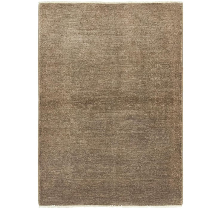 2' 10 x 4' 2 Over-Dyed Ziegler Rug