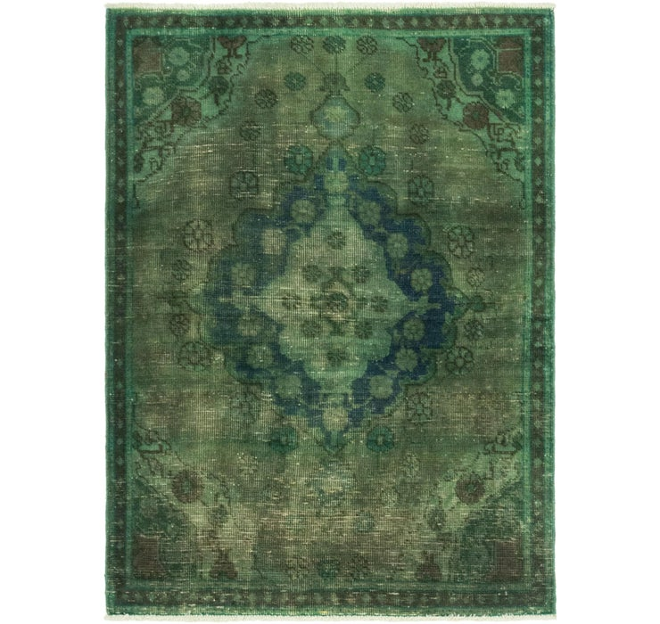 97cm x 135cm Ultra Vintage Persian Rug