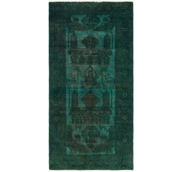 85cm x 178cm Ultra Vintage Persian Rug