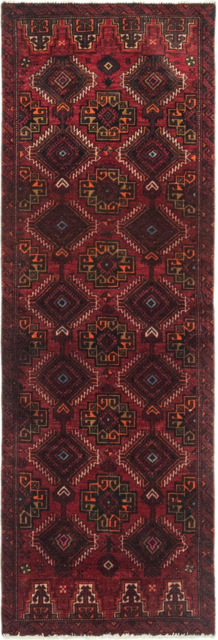 2' x 5' 9 Ultra Vintage Persian Runner Rug main image