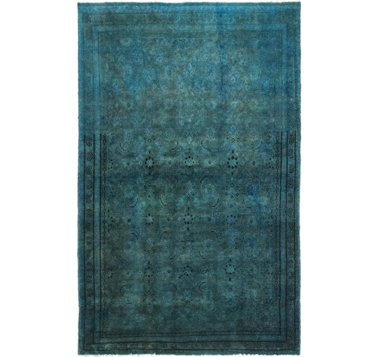 107cm x 170cm Ultra Vintage Persian Rug