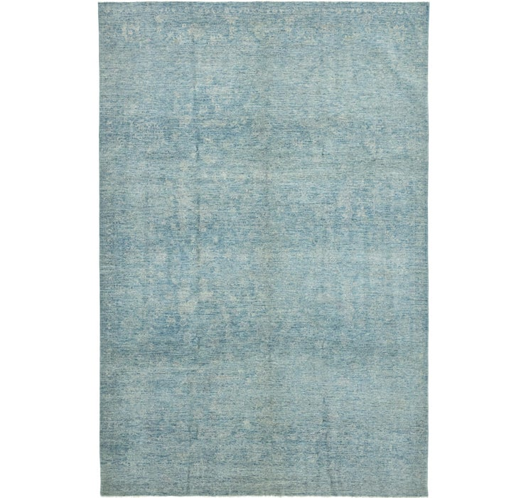 Image of 6' 10 x 10' 5 Over-Dyed Ziegler Rug