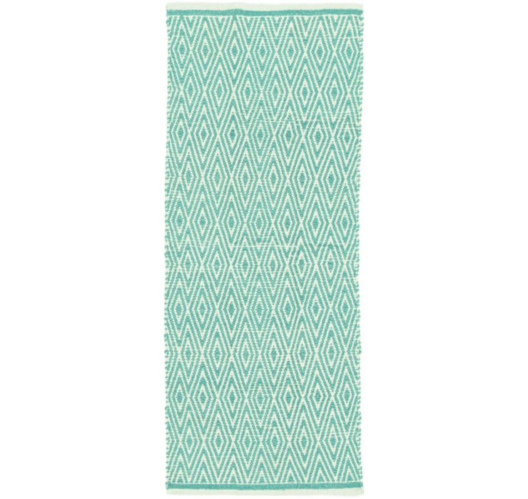 60cm x 157cm Chindi Cotton Runner Rug