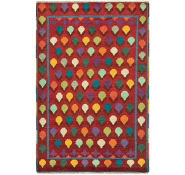 Image of  2' 7 x 4' 1 Balouch Rug