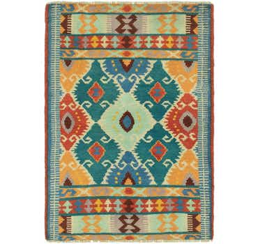 Image of 2' 6 x 3' 9 Balouch Rug