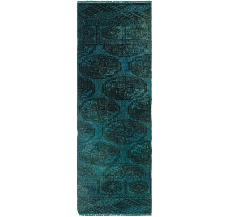 40cm x 127cm Ultra Vintage Persian R...