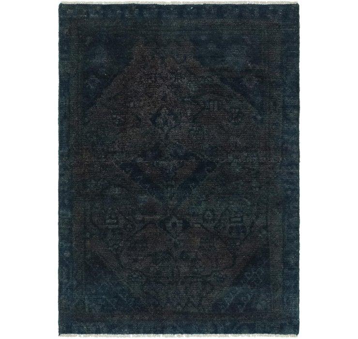102cm x 140cm Ultra Vintage Persian Rug