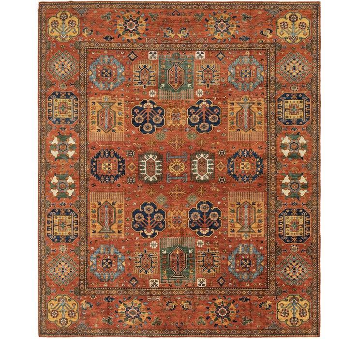 415cm x 498cm Kazak Oriental Rug