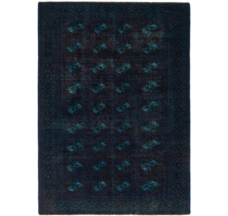 173cm x 250cm Ultra Vintage Persian Rug